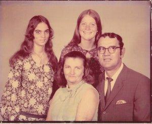 70s Family Photo