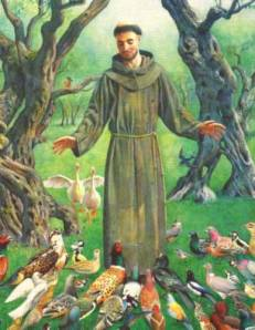 st-francis-of-assisi-and-birds from Robert Kennedy's book