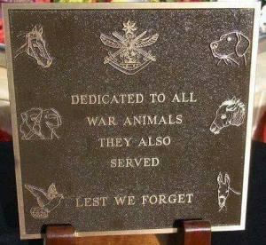 Animal War Veterans