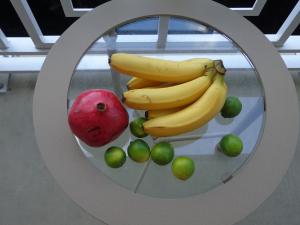 balcony fruit close up