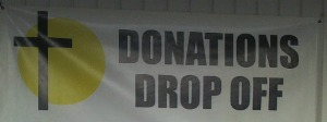 Mission Donation  drop off