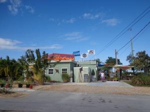 wharf restaurant at Summerland Key