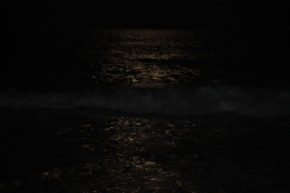 moonlight on ocean