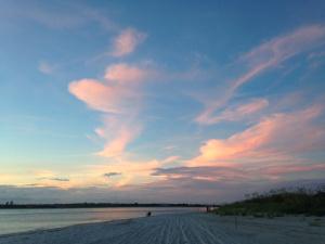 good pink clouds