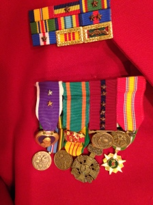 Jerry's medals