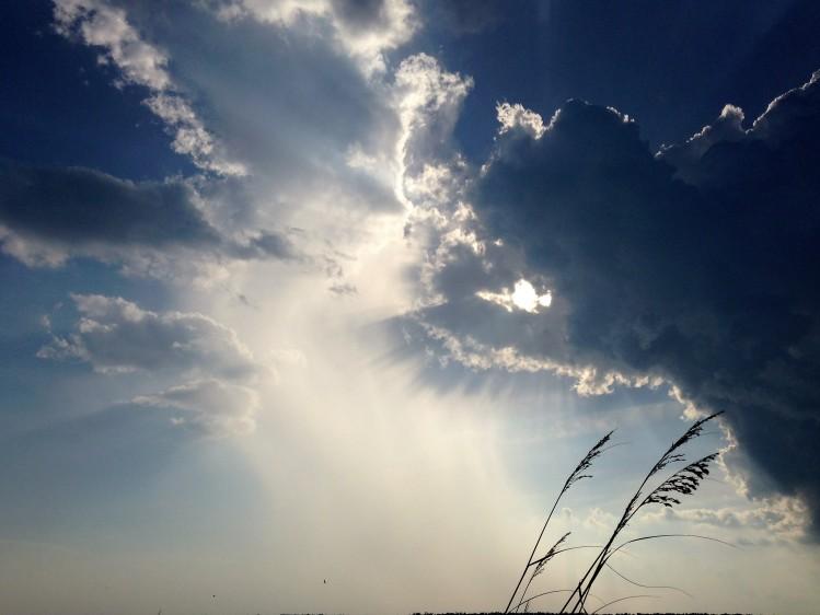 God's hand with sun coming through.JPG