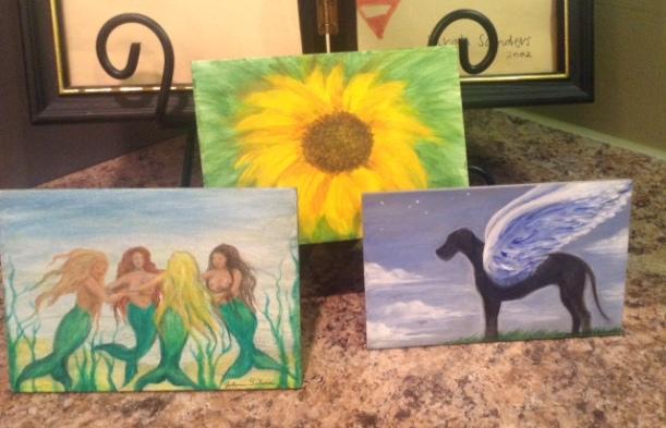 three-girlfriends-paintings