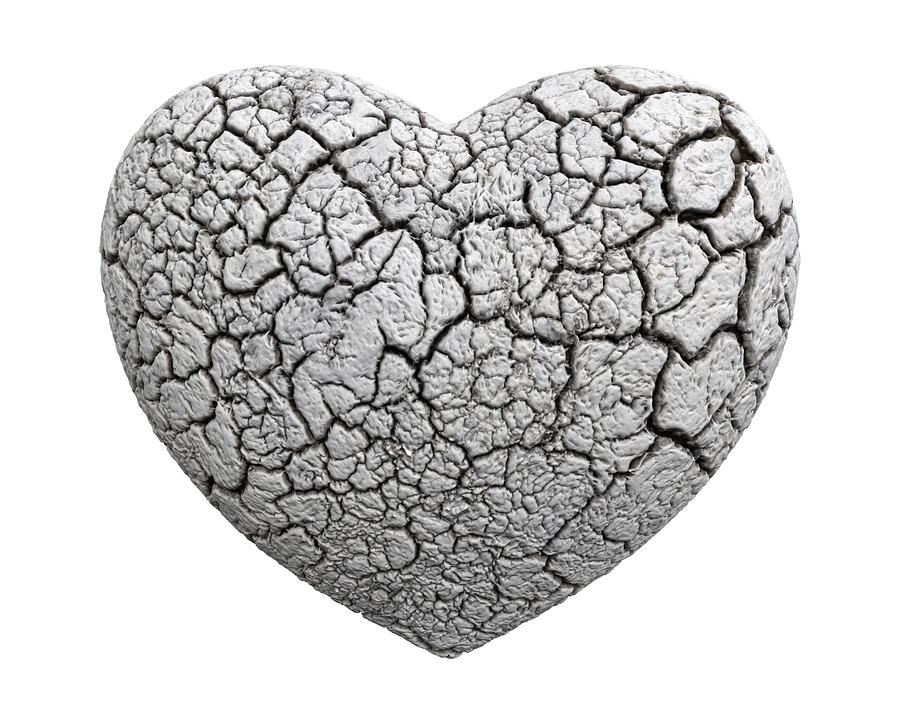 broken heart from pixabay