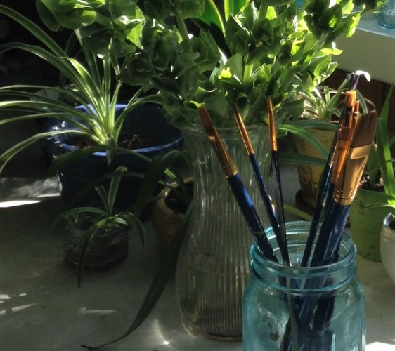 paintbrushes-and-plants-2