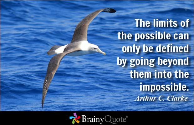 Possbile quote by Arthur C. Clark