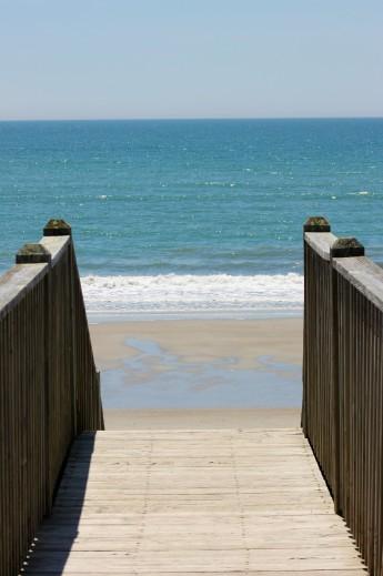 Atlantic Beach steps
