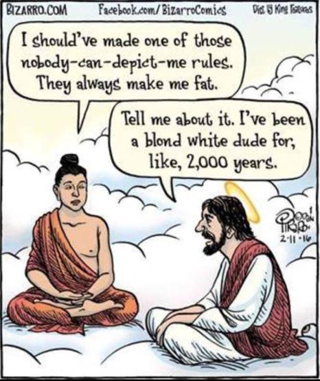 buddah and jesus