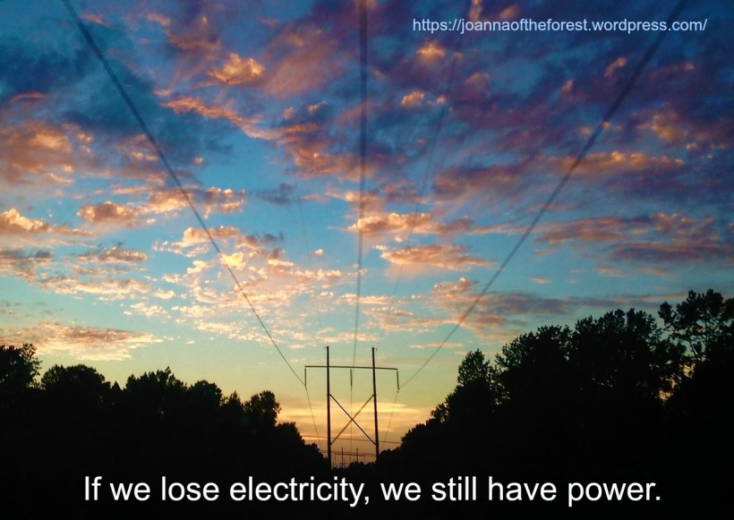 if we lose electricity