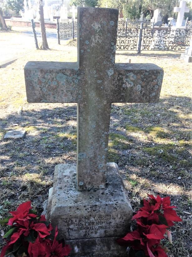 Sister Cecelia cross