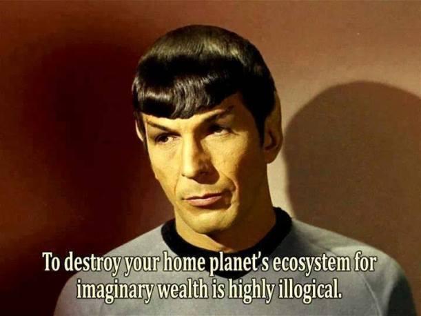 Spock One Liner on Ecosystem