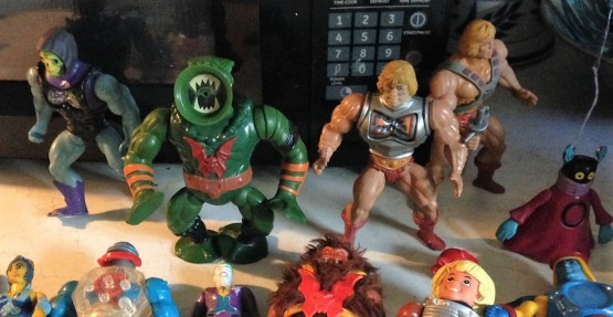 action figures lined up