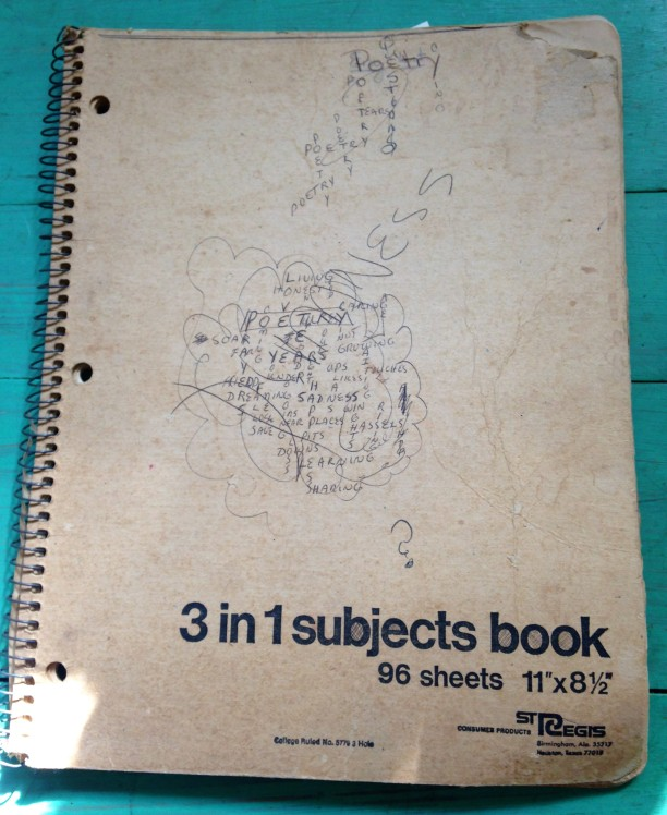 Notebook from 1972