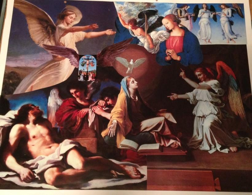 Angel Calenar Collage