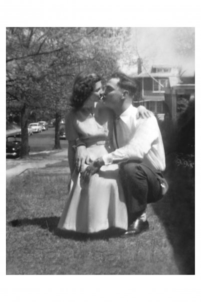 Mom and Dad in 54 in Washington