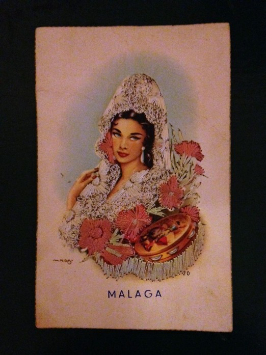The Card from Malaga Spain