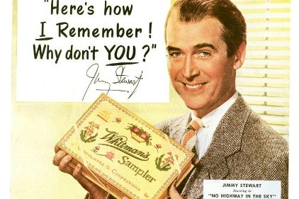 Whitman's Sampler with Jimmy Stewart
