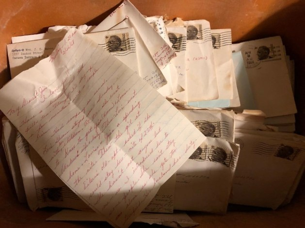 attic trunk letter 1968