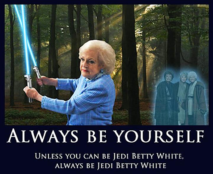 Betty White Jedi