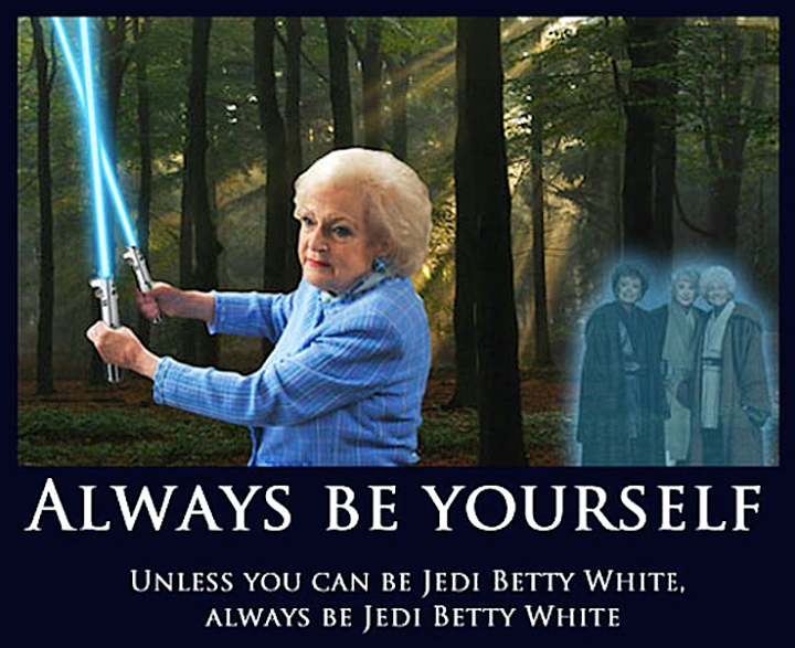 Betty White Jedi