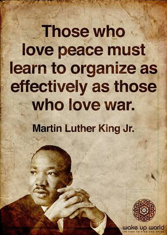 Organize for Peace MLK
