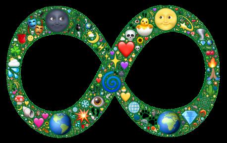 infinity symbol from pixabay