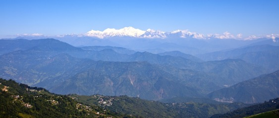 Himalayan mountains from India via pixababy